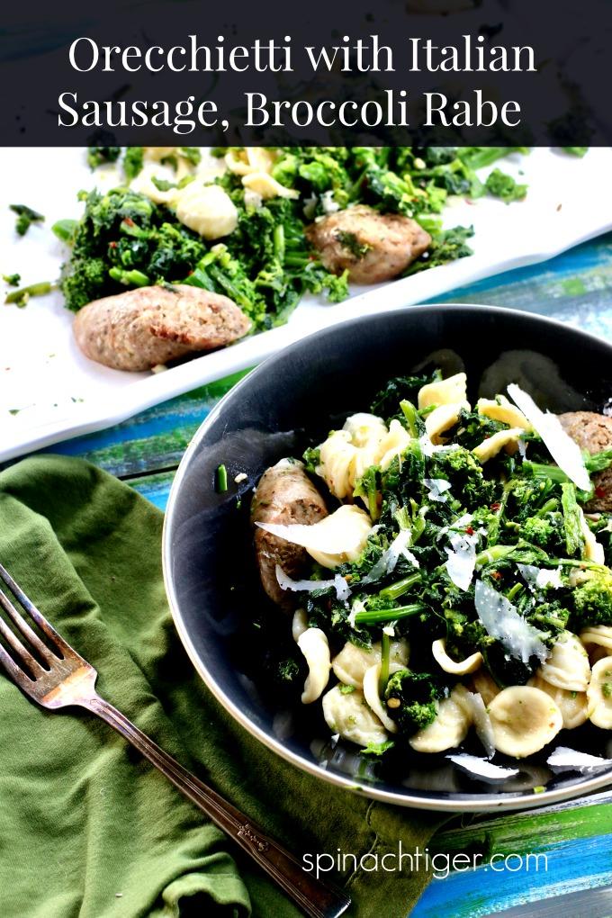 Orecchietti with Broccoli Rabe