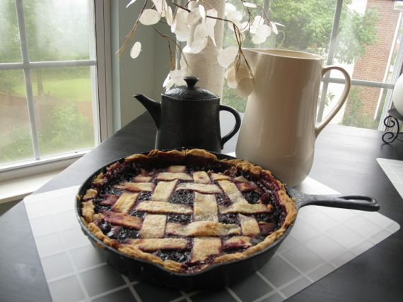 Blackberry Pie Cobbler by Angela Roberts