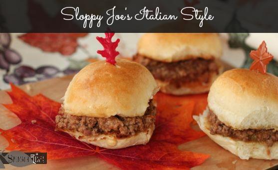 Sloppy Joe's Italian Style