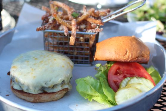 Cheeseburger from the Tavern in Nashville by Angela Roberts
