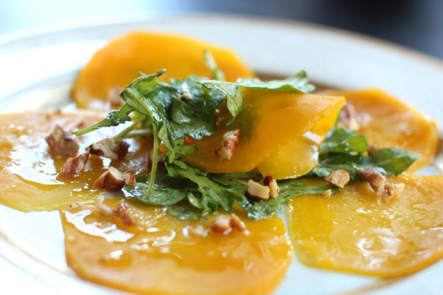 Beet Carpaccio and Holiday Side Dishes from Spinach Tiger