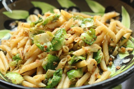 Easy Fast Dinner Recipes: Penne Pasta from Spinach Tiger