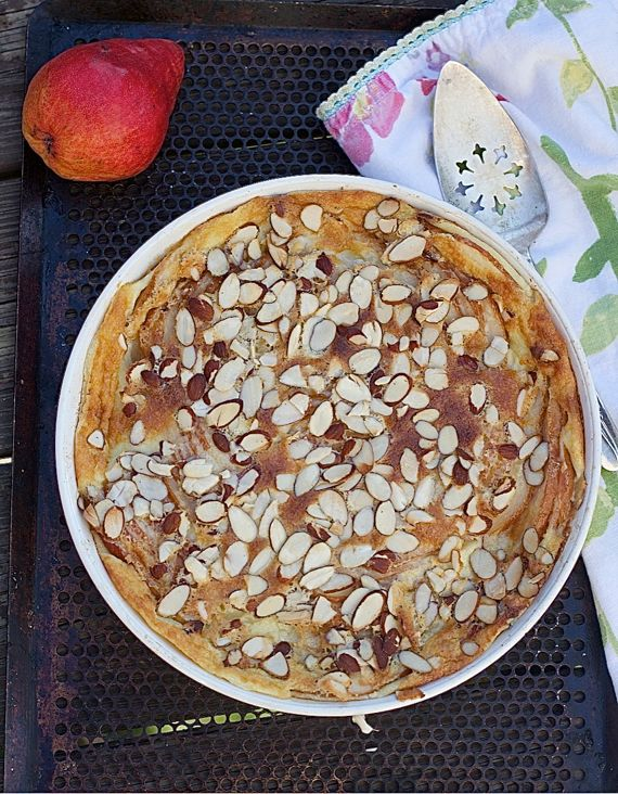 Pear Clafoutis by angela roberts
