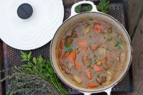 Veal Stew by Angela Roberts