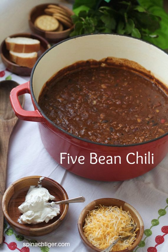 Five Bean Chile by Angela Roberts