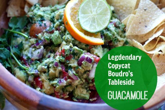 Authentic Copycat Boudro's Guacamole by Angela Roberts
