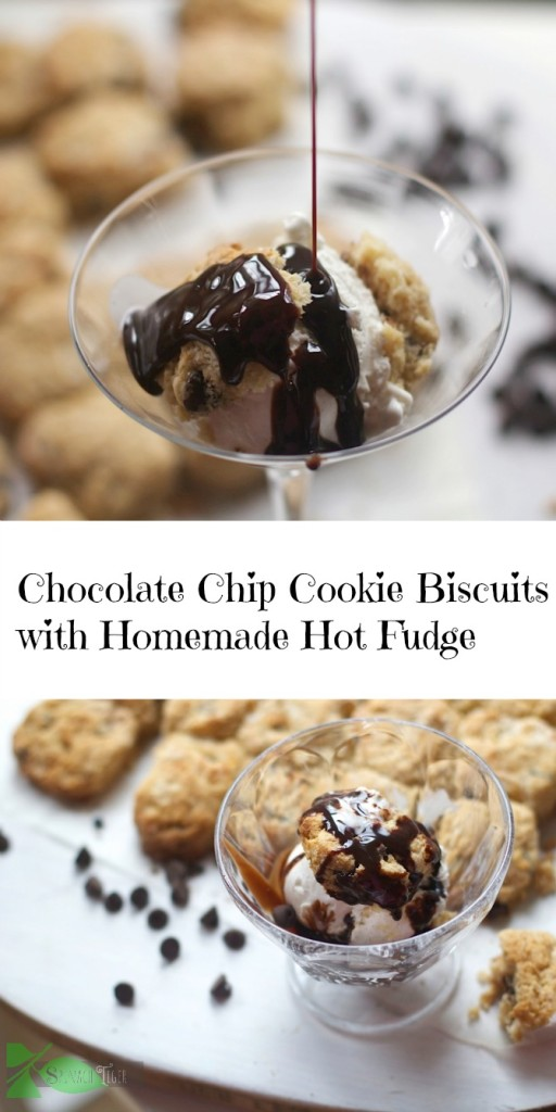 Chocolate Chip Cookie Dough Biscuits from Spinach Tiger