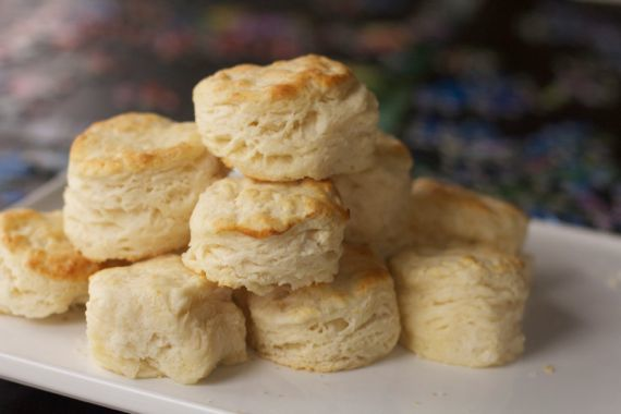 Fluffy buttermilk biscuits by Angela Roberts