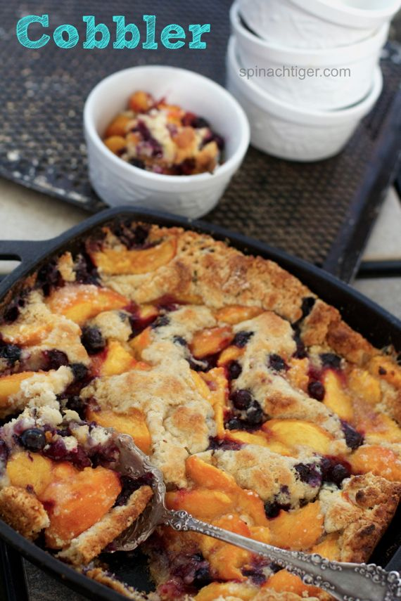 Fresh Peach Cobbler by Angela Roberts