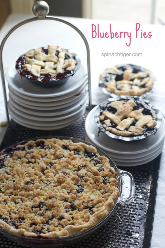 Blueberry Crumb PIe Recipe by Angela Roberts