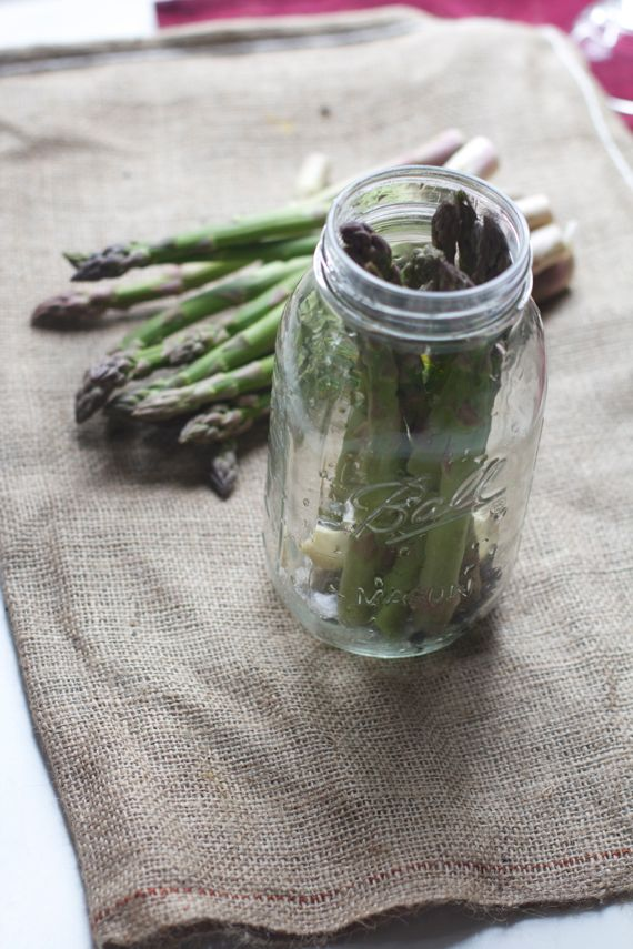 Pickling Asparagus by Angela Roberts