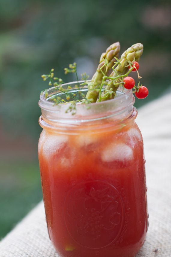 Best Bloody Mary with PIckled Asparagus 2 by Angela Roberts
