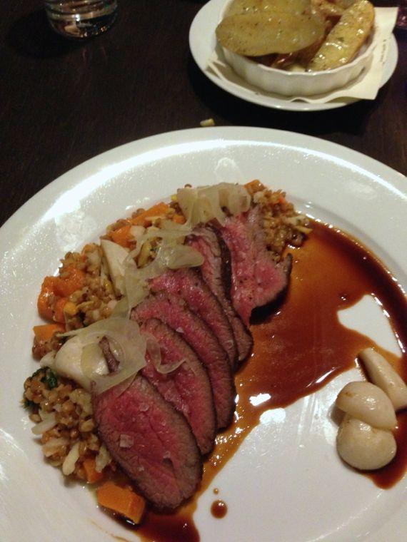 Tri tip steak at 404 Kitchen by Angela Roberts
