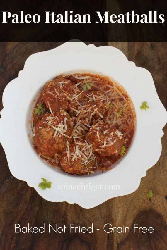 Paleo Homemade Italian Meatballs by Angela Roberts