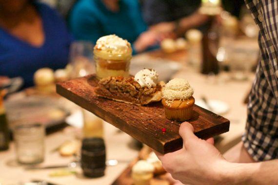 Desserts at Omni Nashville Kitchen Notes by Angela Roberts