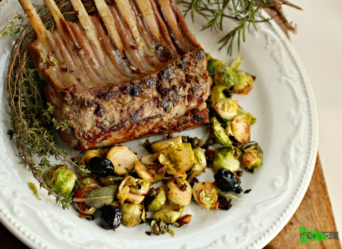 Seven Easy Lamb Recipes: Rack of lamb