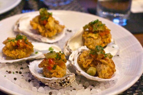 Oysters at Moto Cucina Enoteca by Angela Roberts