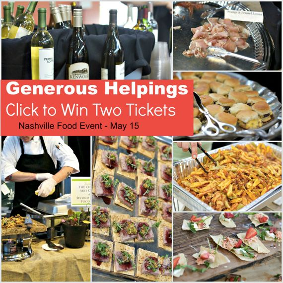Win Tickets to Generous Helpings by Angela Roberts
