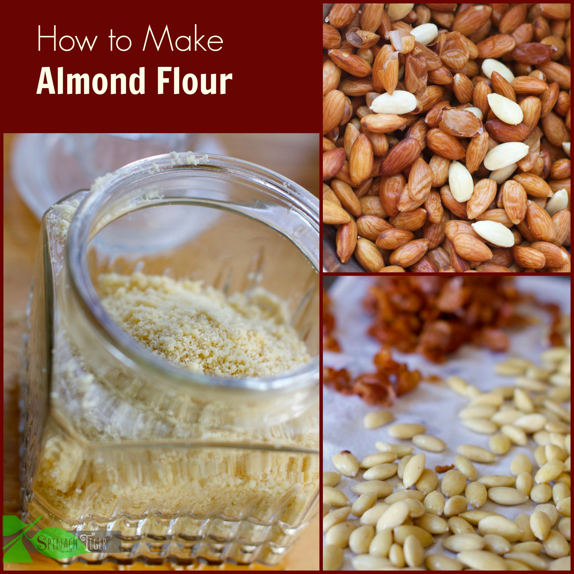 How to Make Blanched Almond Flour by Angela Roberts