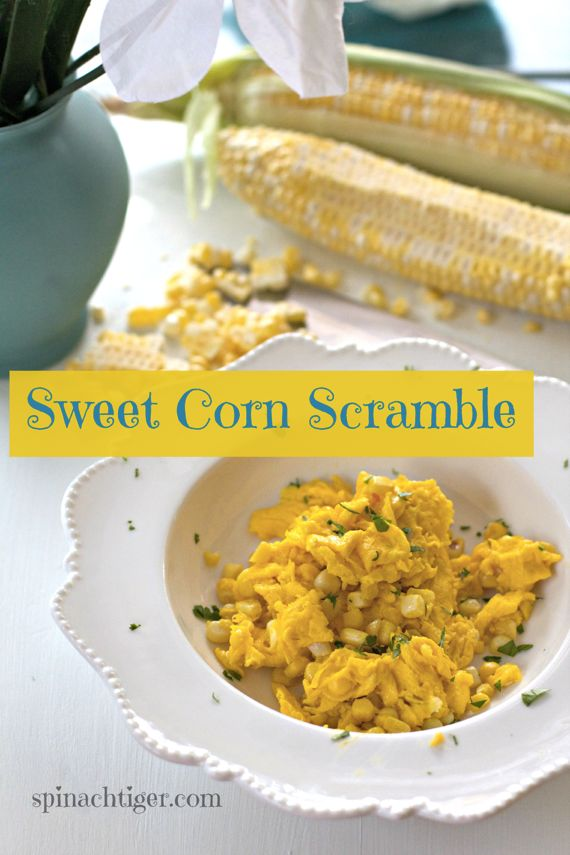 Sweet Corn Scramble by Angela Roberts