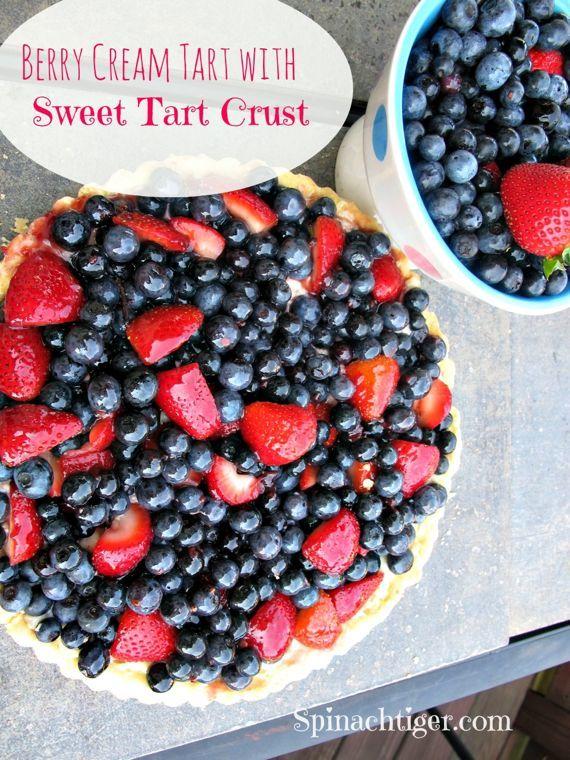 Berry Tart by Angela Roberts