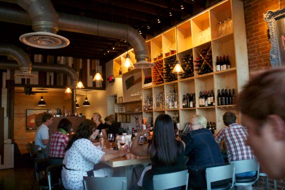 Bar at Lockeland Table by Angela Robert