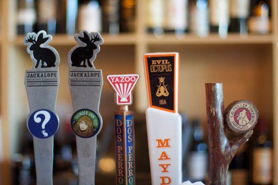 Lockeland Table serves local beer on draft by Angela Roberts