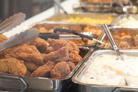 Fried Chicken Kroger Marketplace in Franklin by Angela Roberts