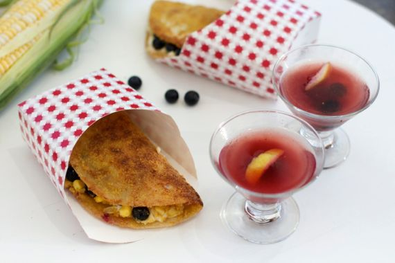 Blueberry Cream Cheese Dessert Taco 7 by Angela Roberts