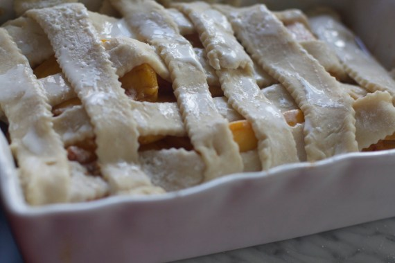 Fresh Peaches Cobbler