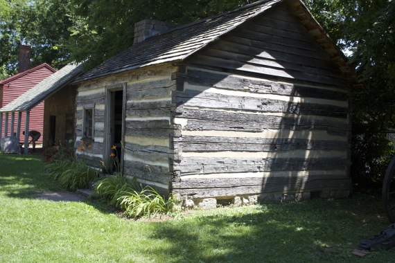 Slave quarters at Carter House by Angela Roberts