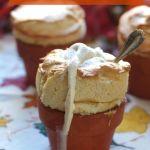 Pumpkin Souffle with Cinnamon Ice cream Recipe