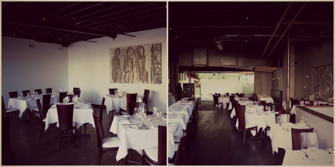 diningroom at Watermark by angela roberts