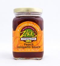 Zack's Peach Jalapeno sauce