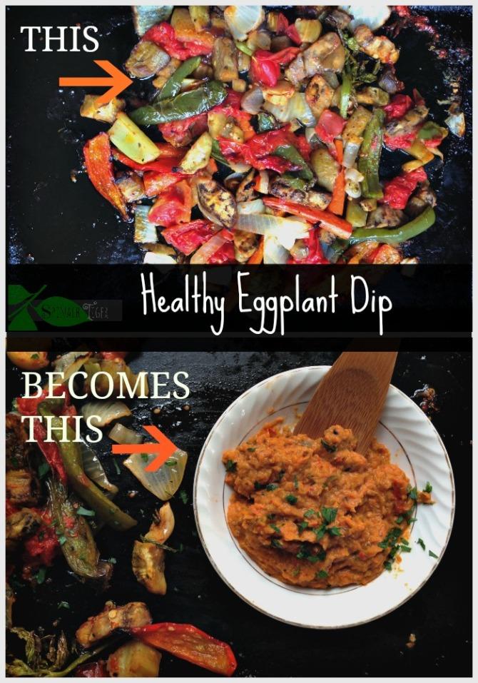 Healthy Eggplant Dip by Angela Roberts