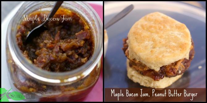 Bacon Jam Recipe and Bacon Jam Peanut Butter Burger