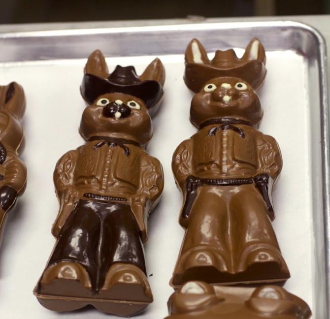 Chocolate Bunnies at Chocolate F/X
