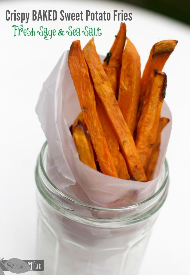 Healthy Sweet Potato Fries, Baked