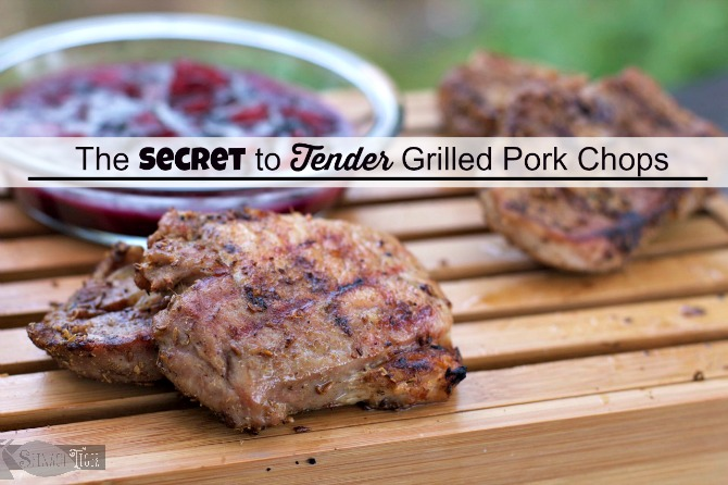 Grilled Rib Eye Chops by Angela Roberts