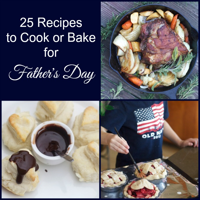 25 Recipes for Father's Day