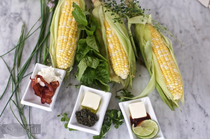 How to Grill Corn on the Cob from Spinach TIger
