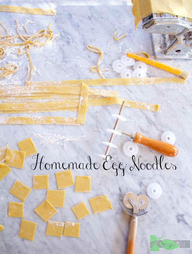 Homemade Egg Noodles from Angela Roberts