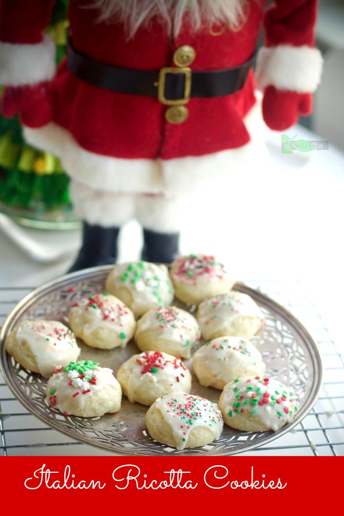 Delicious Family Recipe: Italian Ricotta Cookies #Christmascookie #ItalianChristmascookie via @angelaroberts
