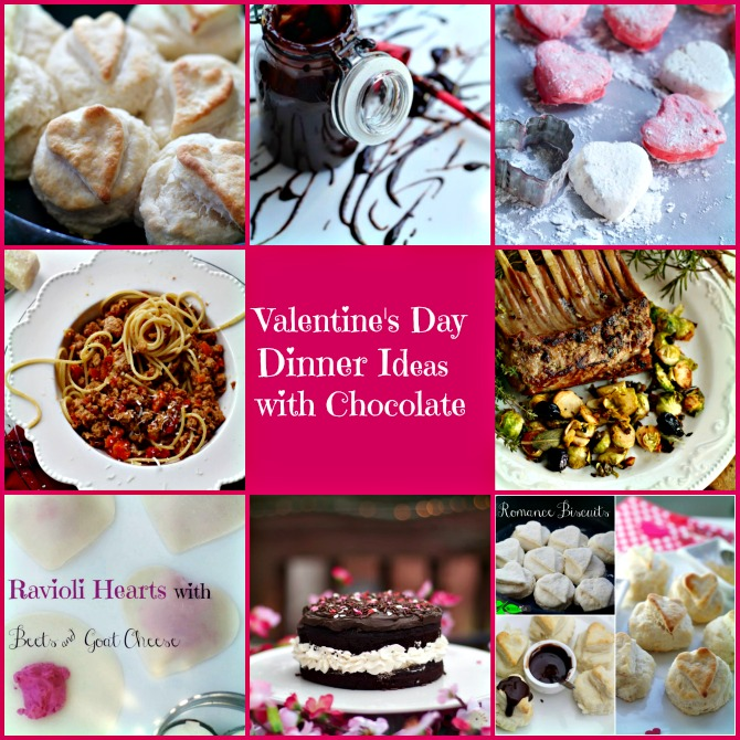 Valentine's Dinner Recipes from Spinach Tiger