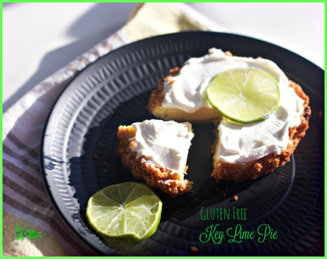 Gluten Free Authentic Key Lime Pie Recipe from Spinach Tiger