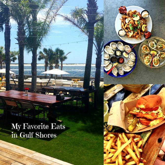 Where I love to eat in Orange Beach by Angela Roberts