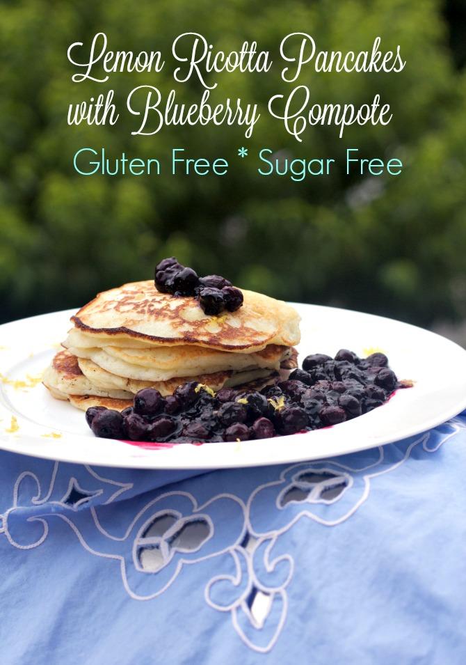 Gluten Free Lemon Ricotta Pancakes from Angela Roberts