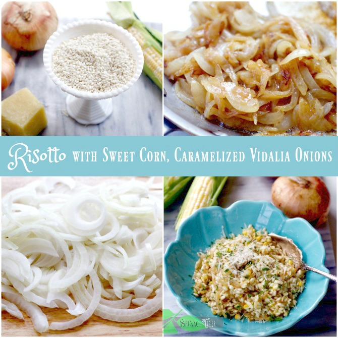 How to Make Caramelized Onion Risotto by Spinach Tiger
