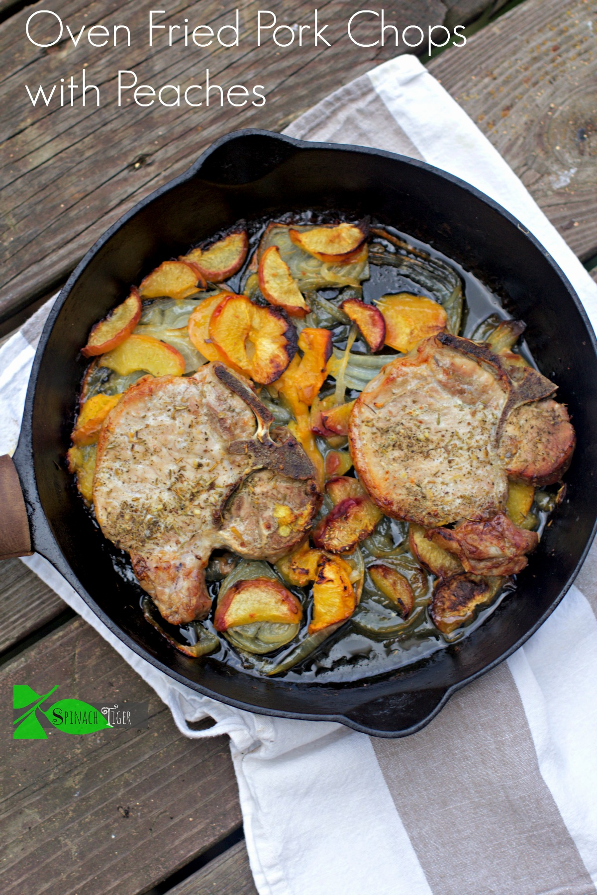 Pork chops with pizza. How to Freeze Peaches and My Best Peach Recipes from Spinach Tiger