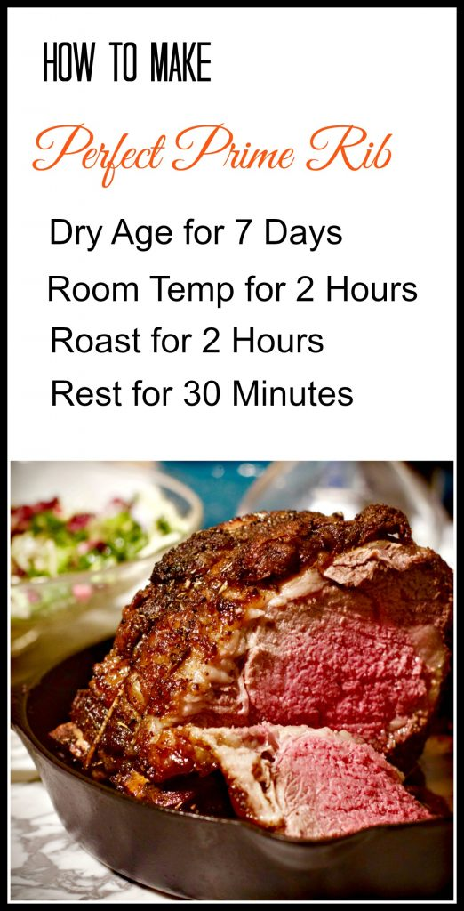 The Best Prime Rib Recipe from Spinach Tiger